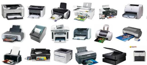 các dòng máy in thường thấy ở văn phòng